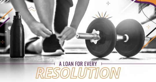 New Year New You Personal Loan Promotion Image