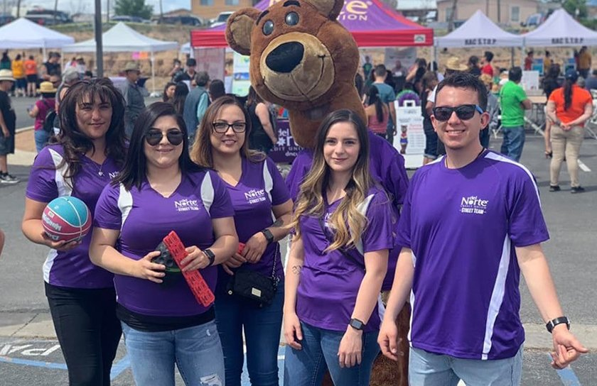 Dncu employees participate at community event