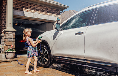 Insurance services Auto Home Child washing Car