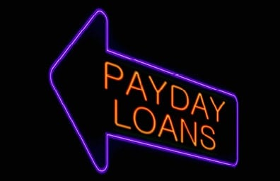 Payday Loans Electric Sign