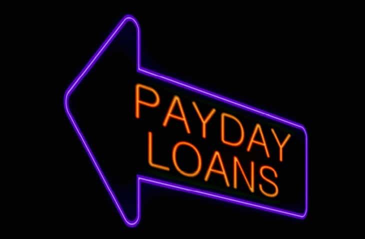 Payday Loans Electronic Sign