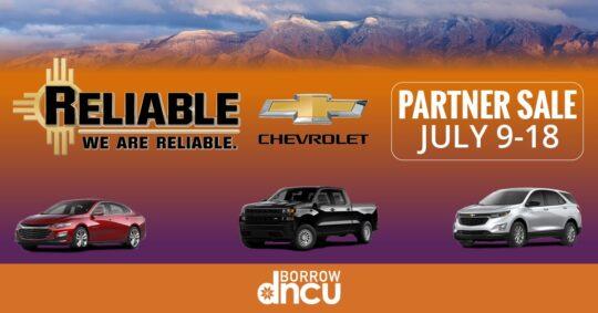 Reliable Chevrolet Partner Sale
