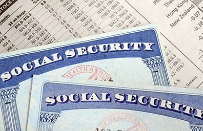 Retirement Planning Social Security Cards