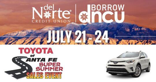 Toyota Of Santa Fe Super Summer Sales Event