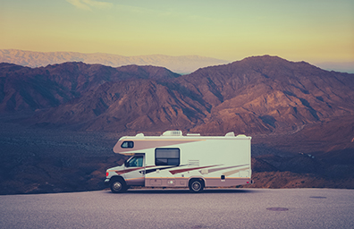 rv parked in new mexico