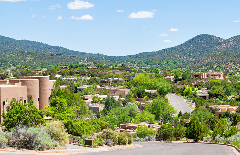santa fe neighborhood